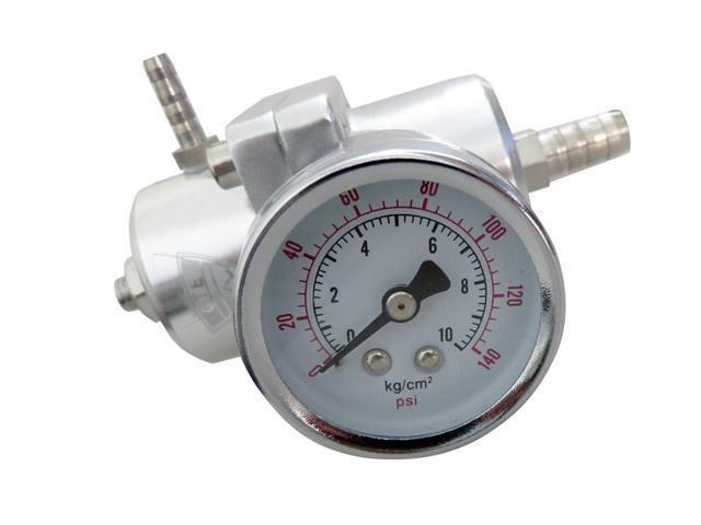 GTE Fuel Pressure Regulator Universal JDM Adjustable Turbo Fuel 140PSI (FPR-S)