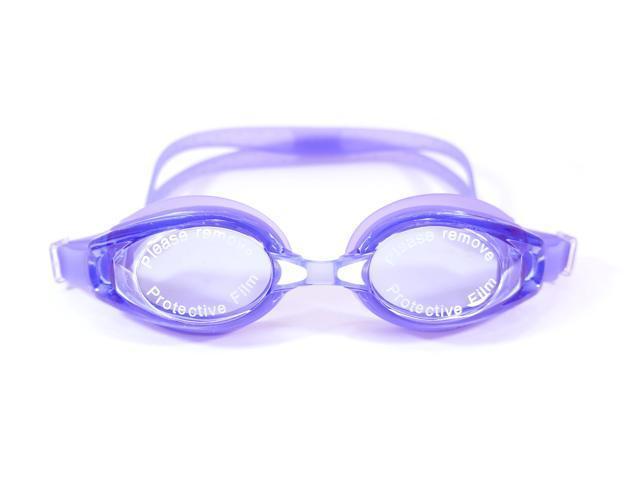 Swimming Goggles  Blue Adult Glasses  Anti-Fog Lens Comfort Fit  UV protection - OEM