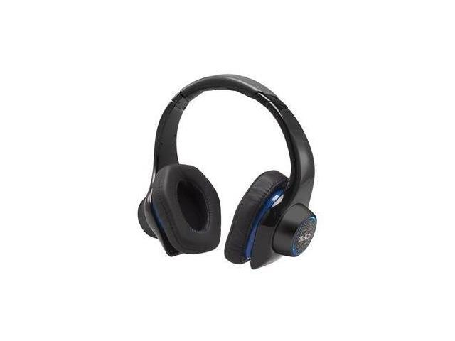 Denon AH-D400 Urban Raver Over-Ear Headphones (Black)