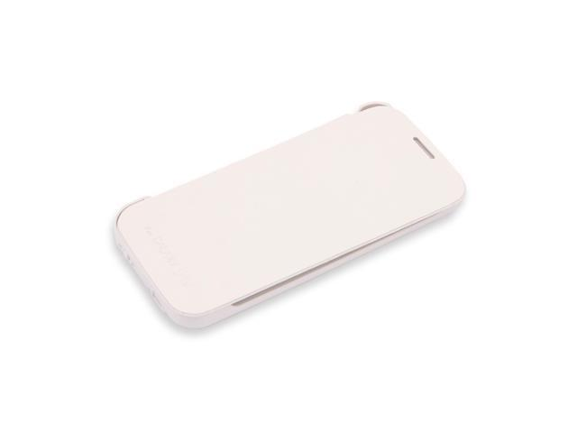 3800mAh Power Bank Backup Battery Stand Case For Samsung Galaxy S4 i9500 White