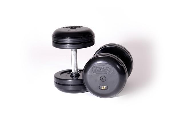 FIX PROSTYLE DUMBELL-STRAIGHT HANDLE,RUBBER, 7.5 lb