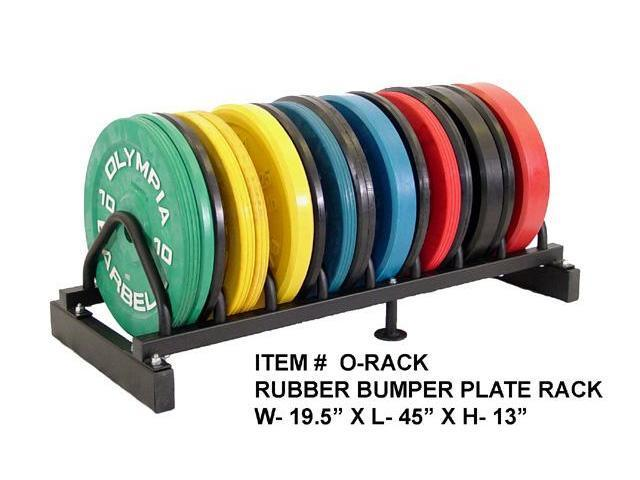Bumper Plate Storage Plate Holders Welded