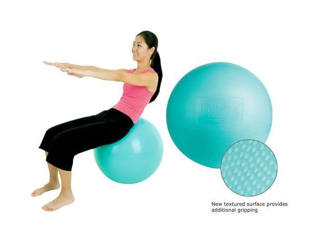 EcoWise Fitness Ball - 55 cm (Honeydew)