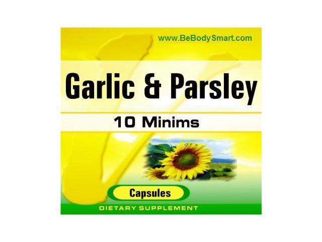 Garlic & Parsley 500mg Softgel 100