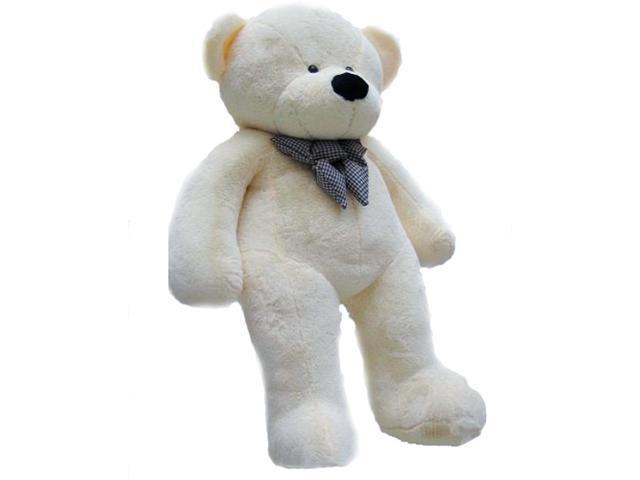 Giant 6.5' Joyfay Teddy Bear, White