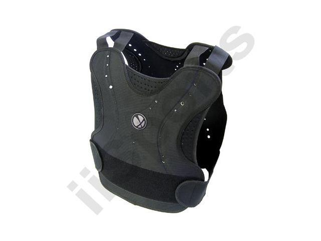 Black Paintball Airsoft GXG Padded Chest Protector Guard Body Armor Vest Pad