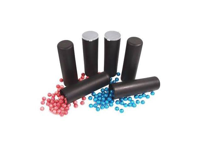 6 GXG 100 round BLACK Paintball Flip Top Tubes Pods VL ball haulers NEW!