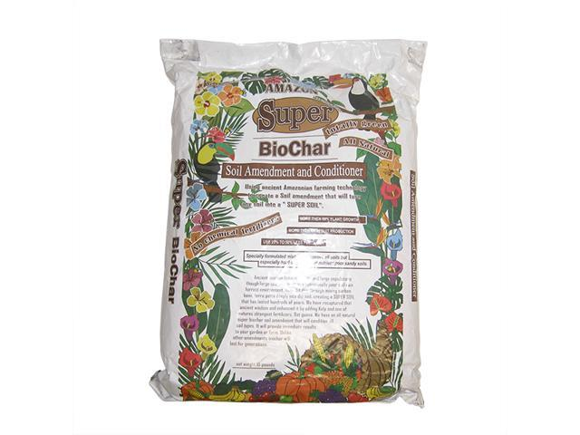 Hydroponic Indoor Super BioChar Soil Conditioner Fertilizer 10 lb Bag Bat Guano Kelp Coconut Shell Crushed Bone