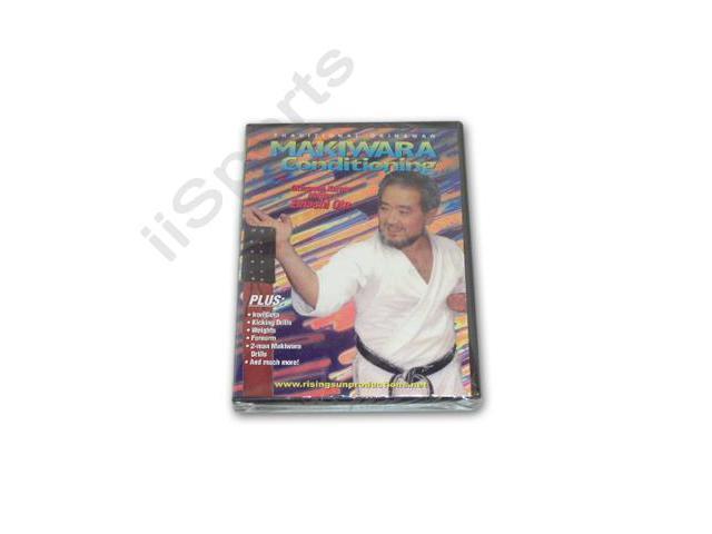 Traditional Okinawan Karate Makiwara Conditioning DVD iron geta chi ishi RS3