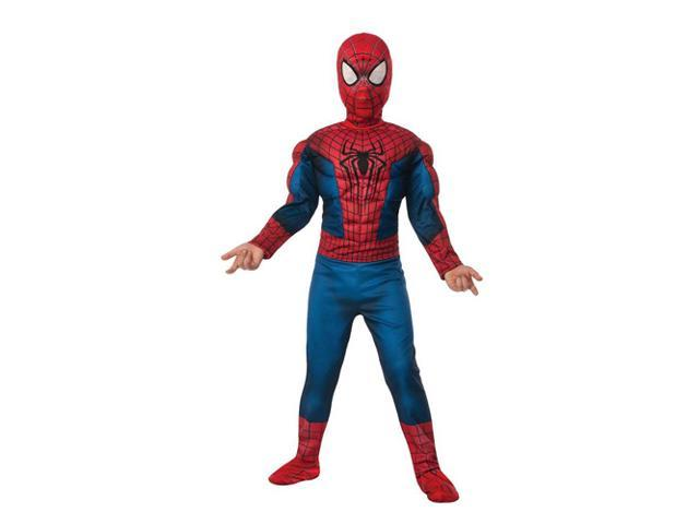 Kids Deluxe Amazing Spiderman 2 Fiber Fill Costume - Large