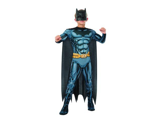 Kids Batman Muscle Suit Costume - Small