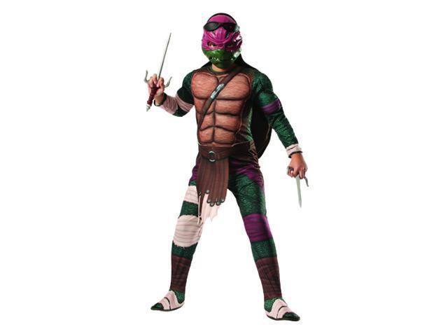 Kids Deluxe Ninja Turtles Raphael Costume - Small