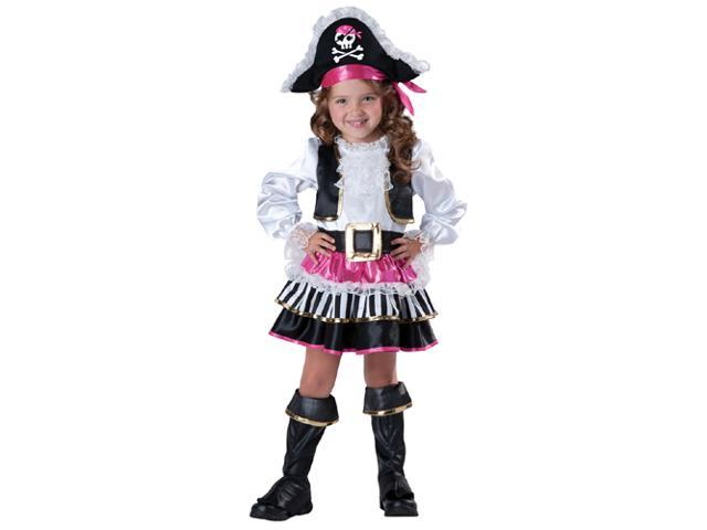 Toddler Pirate Girl Costume - 4T
