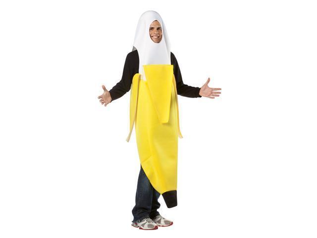 Adult Peeled Banana Costume