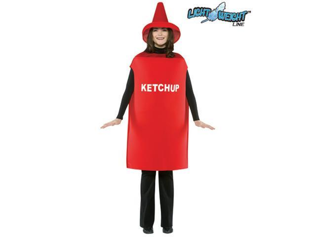 Adult Ketchup Bottle Costume Rasta Imposta 305