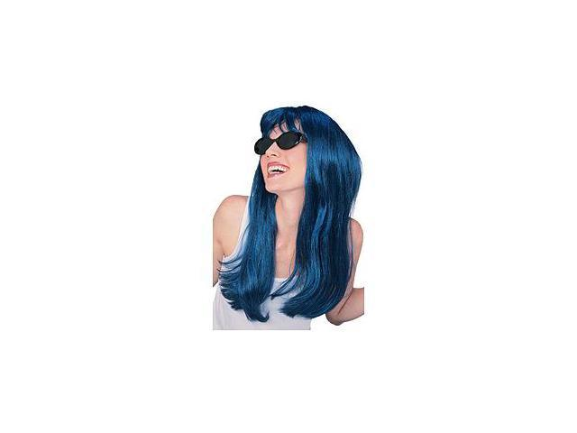 Blue Glamour Wig Rubies 50424