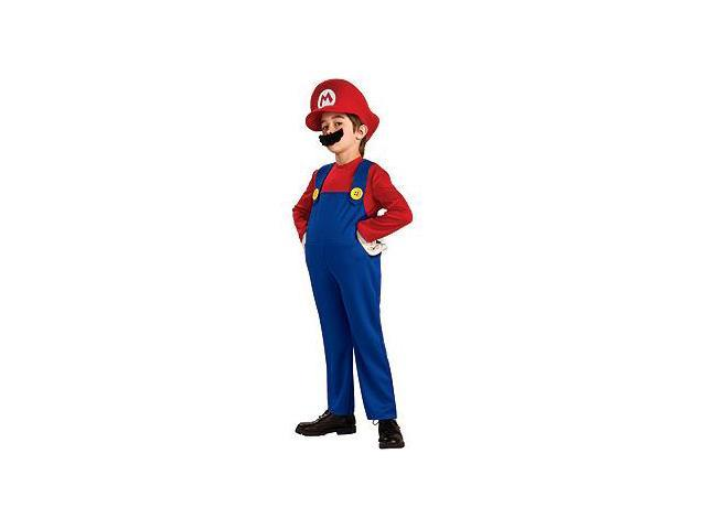 Super Mario Bros. Deluxe Mario Child Costume