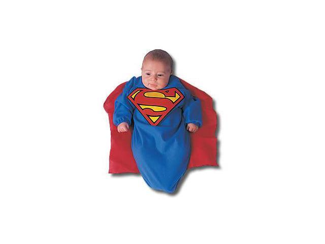 Infant Superman Bunting Costume Rubies 81105