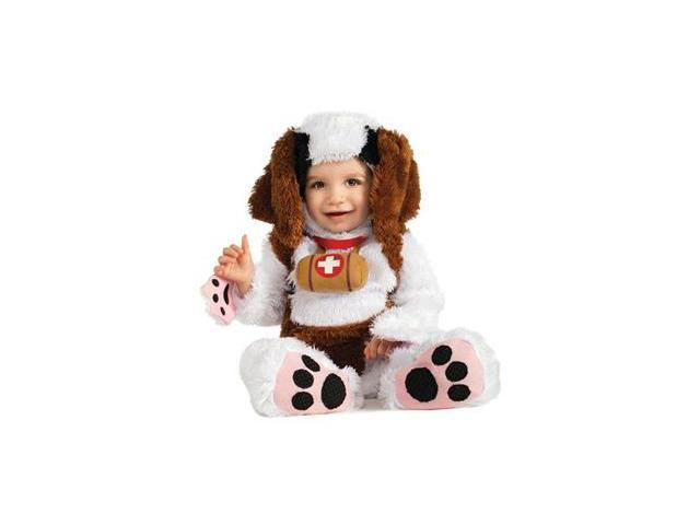 Infant St. Bernard Dog Costume Rubies 885159