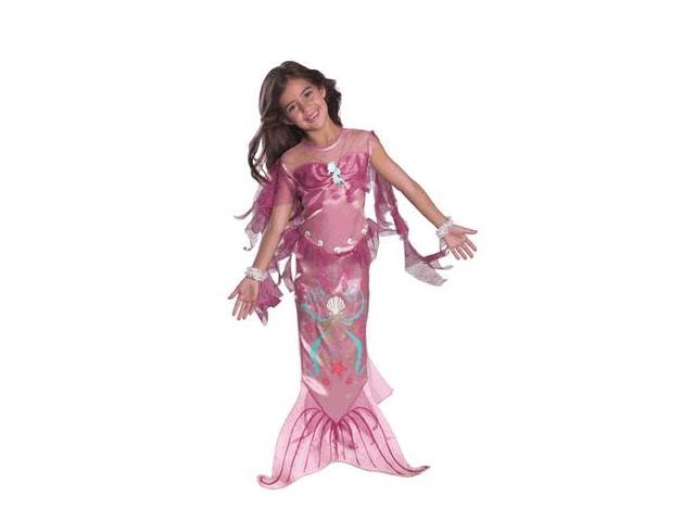 Kids Pink Mermaid Costume