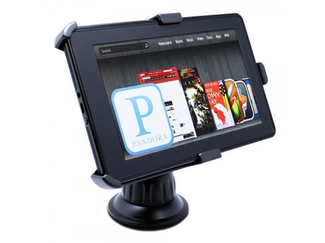 "Satechi CR-3605 Car Holder Mount for Kindle Fire and Samsung Galaxy Tab 7"" on Windshield and Dashboard"