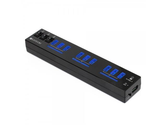 Satechi 10-Port USB 3.0 Hub (9 Port USB 3.0 + 1 iPad Charging Port) 5 Volt, 5 Amp