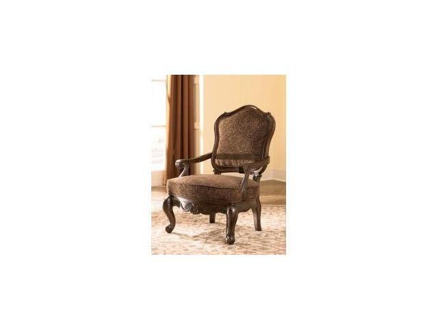 North Shore - Dark Brown Showood Accent Chair by Ashley Furniture