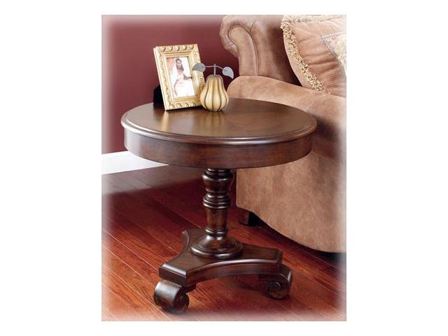 Brookfield Round End Table by Ashley Furniture