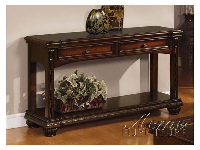 Sofa Table in Cherry Finish