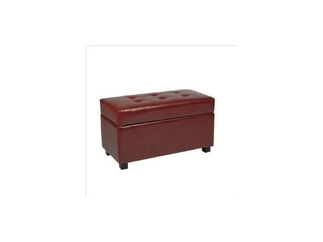 Storage Ottoman/Chest - Office Star MET804 - Metro Collection