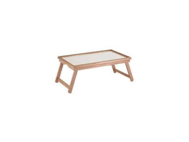 Breakfast Bed Tray, With Notched Handle By Winsome Wood