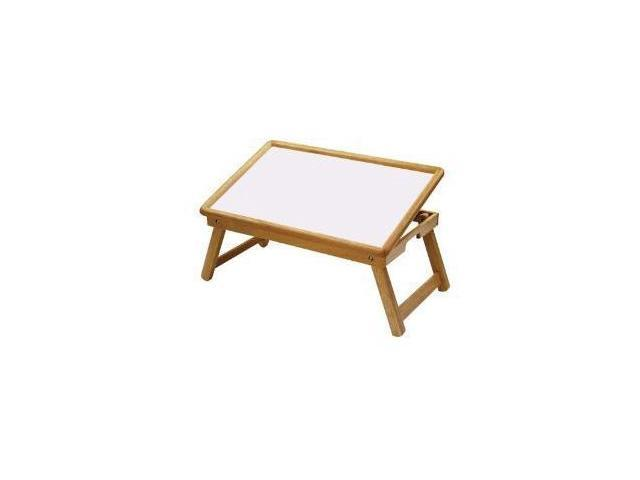 Breakfast Bed Tray, Flip Top, Foldable Legs By Winsome Wood
