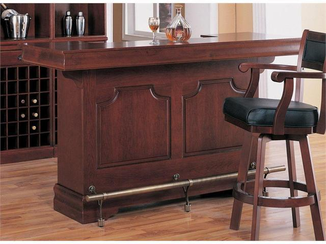 Classic Bar Table in Cherry Finish by Coaster Furniture