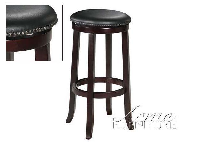 "29""H Round Swivel Stool by Acme Furniture"