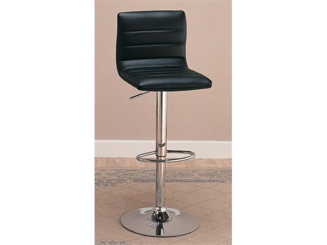Barstool in Black Finish (Set of 2) by Coaster Furniture