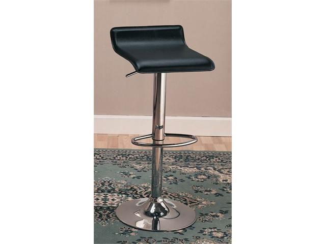 Modern Barstool (Set of 2) in Black Finish by Coaster Furniture
