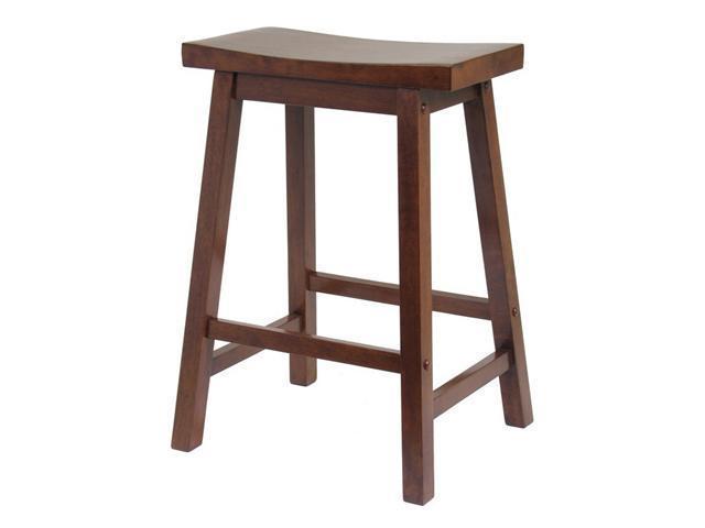"Saddle Seat 24"" Stool, Single, Rta By Winsome Wood"