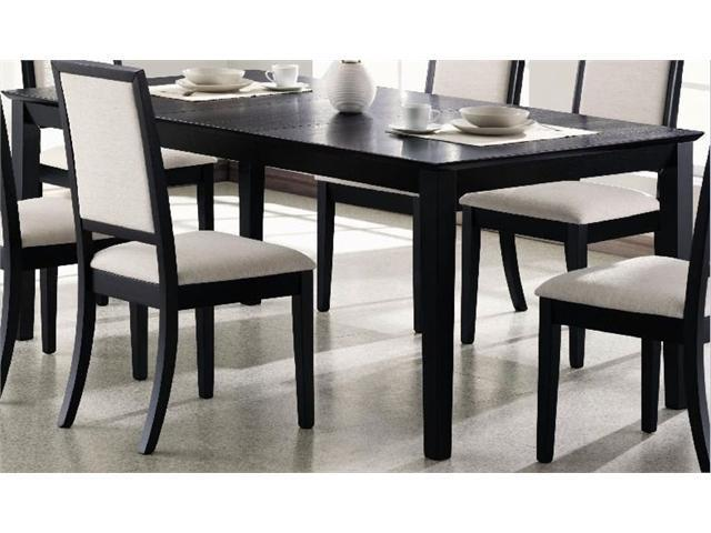 Lexton Dining Table in Distressed Black Finish by Coaster  : A0YC1201202171690235 from www.newegg.com size 640 x 480 jpeg 39kB