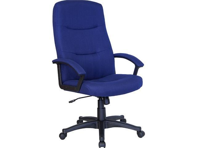 Flash Furniture High Back Navy Blue Fabric Executive Swivel Office Chair [BT-134A-NVY-GG]