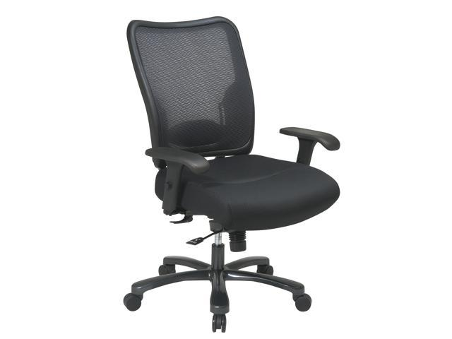 75-37A773Double Air Grid Back  Mesh Seat Ergonomic Chair