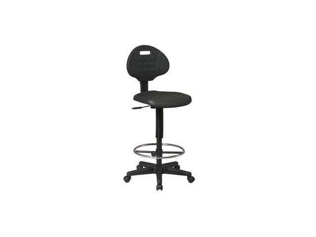 Standard Drafting Chair with Adjustable Footrest - Height Adjustment 22 to 32