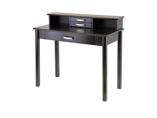 Winsome Wood Liso 2Pc Home Office Set, Computer Desk With Hutch 92271