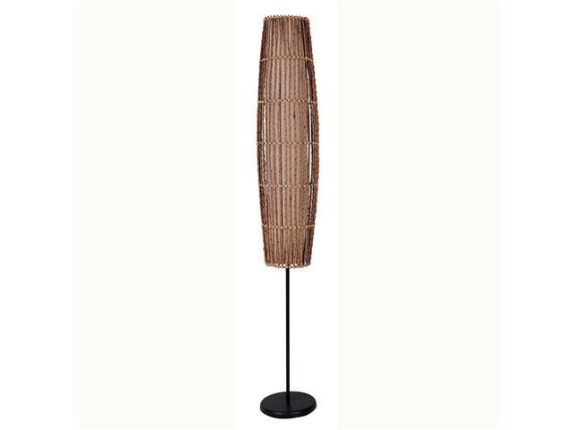 "62"" Rattan Floor Lamp By ORE"