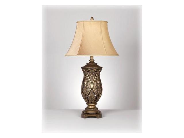 KATARINA BRASS TABLE LAMP (2/CTN)  by Ashley Furniture