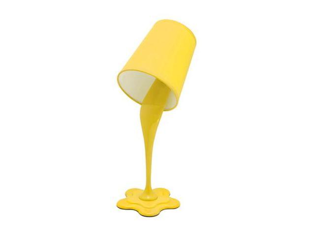 LumiSource Woopsy Lamp in Yellow - LS-L-WOOPSYY