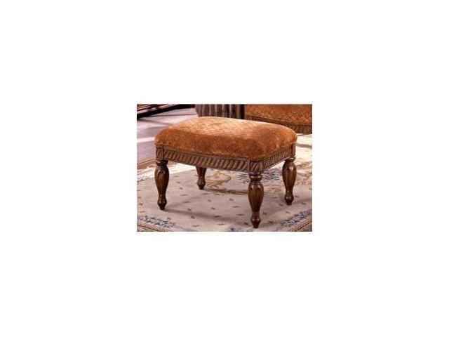 Nottingham Ottoman in Antique Oak Finish by Furniture of America