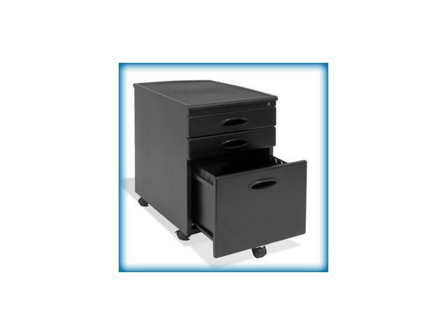 Studio Designs Locking File Cabinet (Black) (23