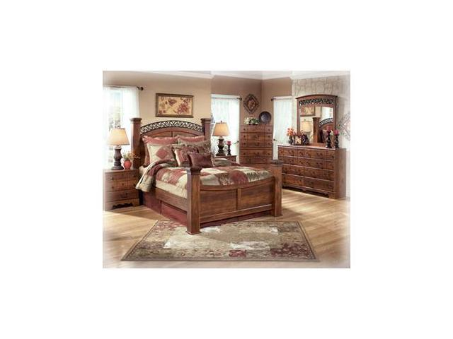 King Size Poster Headboard inCherry  Finish