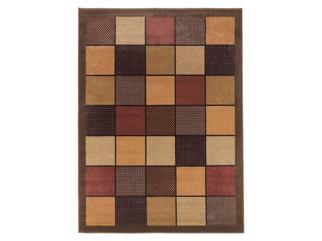 """""""Famous Collection"""" -Brown  Rug"""