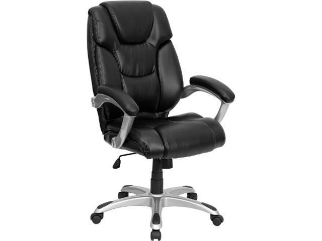 Flash Furniture High Back Black Leather Executive Office Chair [GO-931H-BK-GG]